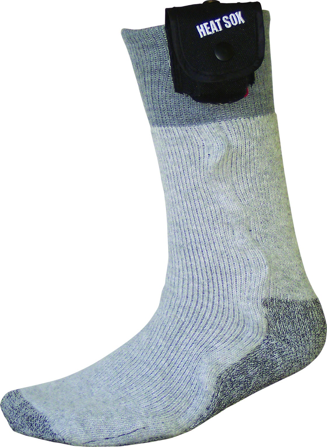 Heat Sox Men's Battery-heated Extra Large Wool-blend Socks