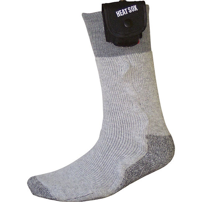 Heat Sox Men's Battery-heated Extra Large Wool-blend Socks