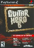 PS2 - Guitar Hero 5 (game only)