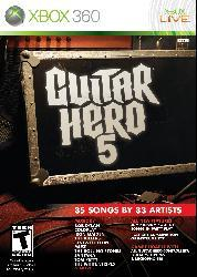 Xbox 360 - Guitar Hero 5 (game only)