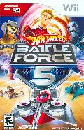 Wii - Hot Wheels: Battle Force 5