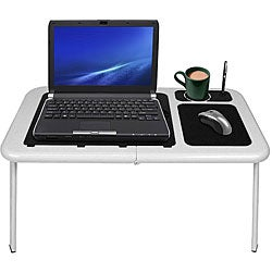 Cooling Fan-equipped Portable Laptop Table