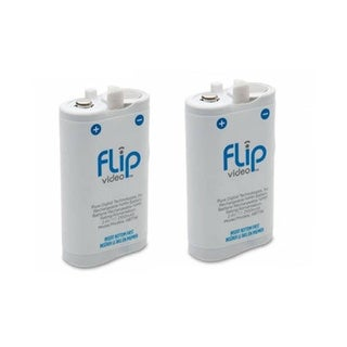 Flip Video ABT1W Digital Camcorder Battery (Pack of Two)