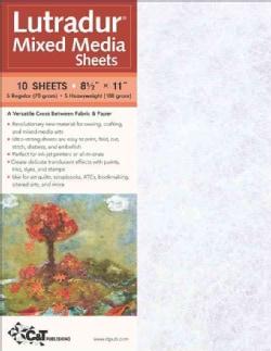 Lutradur Mixed Media Sheets (Paperback)