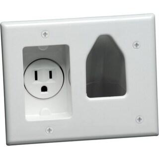 DataComm 1 Socket Faceplate