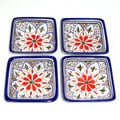 Tabarka Design Square Sauce Dishes (Tunisia)