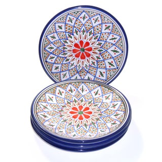 Set of 4 Tabarka 8-inch Side Plate (Tunisia)