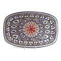 Tabarka Rectangle 13-inch Design Platter (Tunisia)