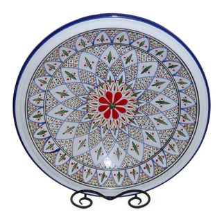 Tabarka Design Large Serving Bowl (Tunisia)