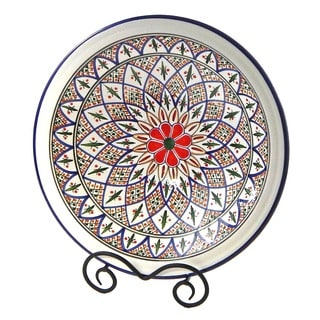 Tabarka Design Medium Serving Bowl (Tunisia)