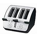 T-Fal TT7461002 Avante Deluxe 4-slice Black Toaster