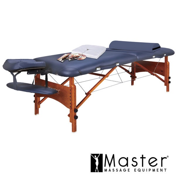Master Massage Monroe LX 30-inch Portable Massage Table with Accessories