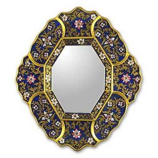 Handmade 'Andean Skies' Mirror (Peru)