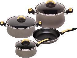 Magefesa Due Cristal Enamel-on-Steel 7-piece Cookware Set