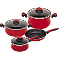 Magefesa Due Praga Enamel-on-Steel 7-piece Cookware Set