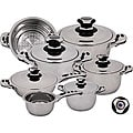 Ecotherm Dietetic Stainless Steel 12-piece Cookware Set
