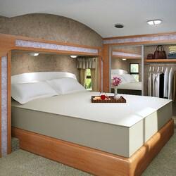 Accu-Gold Memory Foam Mattress 13-inch Queen-size Bed Sleep System