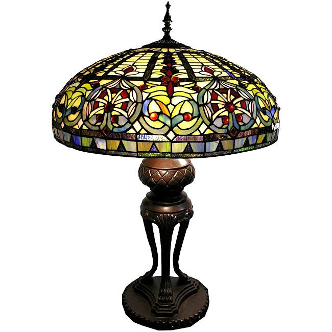 tiffany style classic table lamp 12067027 shopping. Black Bedroom Furniture Sets. Home Design Ideas