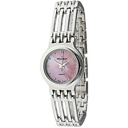 Peugeot Women's Silvertone Open-link Watch
