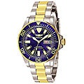 review detail Invicta Men's Signature Automatic Two-tone Blue Dial Watch
