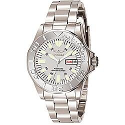 Invicta Men's 7048 Signature Steel Automatic Silvertone Watch