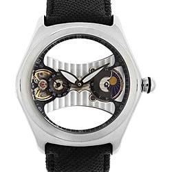 Akribos XXIV Men's Plotos Mechanical Floating Bubble Watch