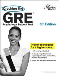 Cracking the GRE Psychology Subject Test (Paperback)