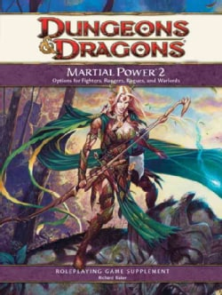 Martial Power 2: A Roleplaying Game Supplement (Hardcover)