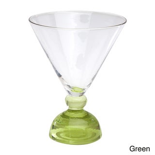 Impulse!  Biarritz 4-piece Martini Glass Set
