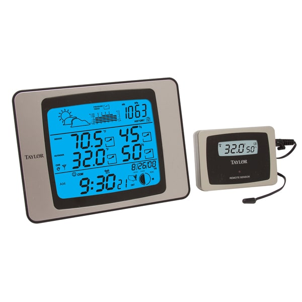 Taylor 1528 Wireless Indoor/ Outdoor Weather Station