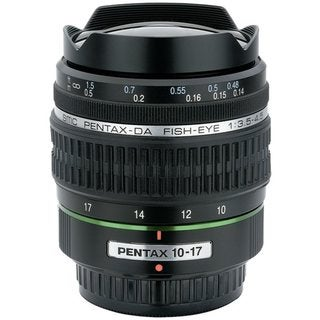 Pentax smc P-DA Fish-Eye 10-17mm F3.5-4.5 ED (IF) Zoom Lens