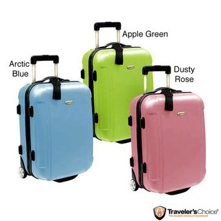 Traveler's Choice Freedom 21-inch Hardside Carry On Upright Suitcase