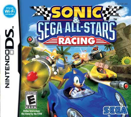 NinDS - Sonic and Sega All-Star Racing