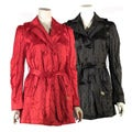 Betsey Johnson Women's Double-breasted Trench Coat