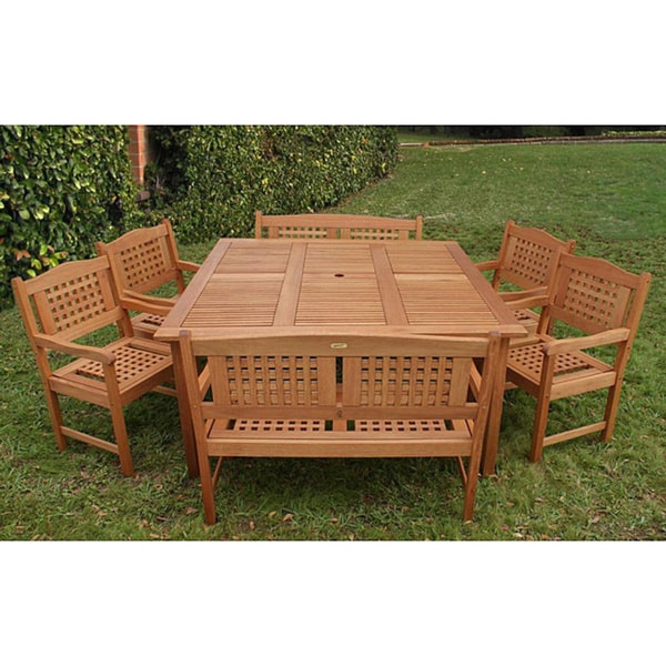 Amazonia Porto Outdoor Dining Set Overstock Shopping Big D