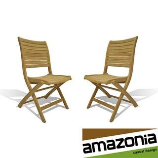 Bordeaux Teak Chairs (Set of 2)