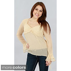 Kaelyn Max Women's V-Neck Blouse