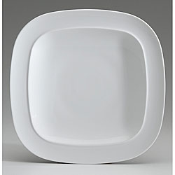 Denby White Collection Square Dinner Plate