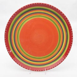 Certified International Hot Tamale 16-inch Serving Platter