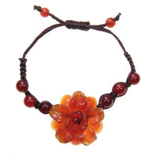 Agate Flower Bracelet (China)
