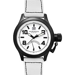 Akribos XXIV 'Scouter' Men's Quartz Canteen Top Crown Watch