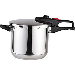 Magefesa Practika Plus Stainless Steel 6.4-quart Pressure Cooker