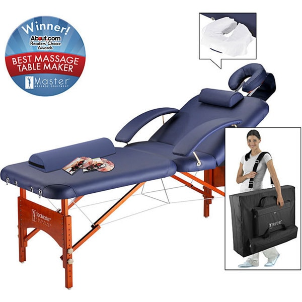 Master Massage Monroe Spa Portable LX 30-inch Massage Table with Accessories