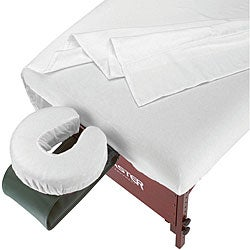 SpaMaster Essentials Massage Table Flannel Sheet Set