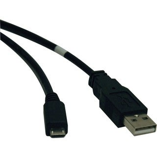 Tripp Lite USB 2.0 Hi-Speed A to Micro-B Cable (M/M) 6-ft.