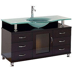 Huntington Contemporary Bathroom Vanity Set