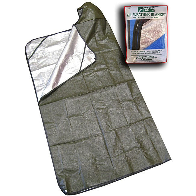Space Sportsman's Green Hooded Blanket