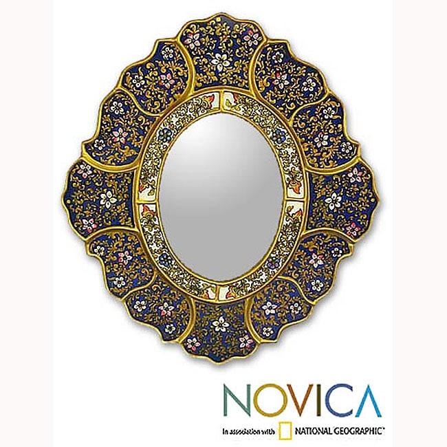 'Garden Gold' Mirror (Peru)