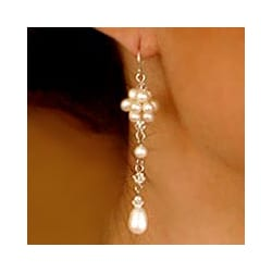 Pearl 'Offer of Grace' Drop Earrings (Thailand)