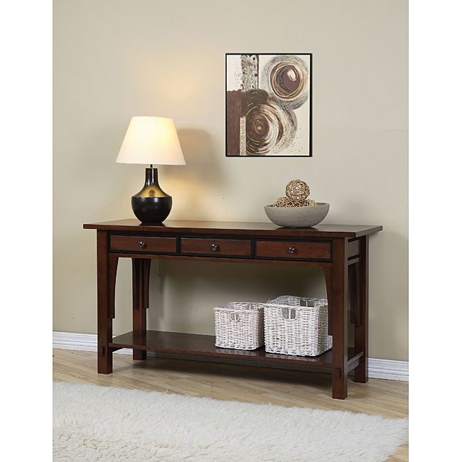 Overstock Foyer Furniture : Talisman drawer console table overstock shopping